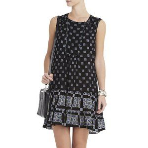 BCBGMaxAzria Yulissa Sleeveless Ruffle Dress S